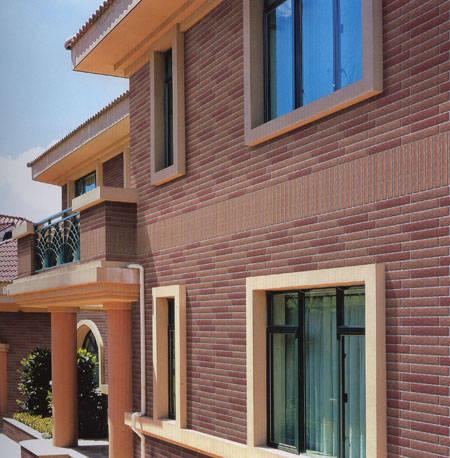 【外墙砖】小别墅外墙砖效果图